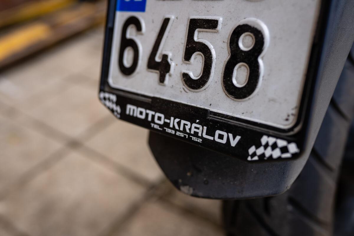 znacka motorka kralov