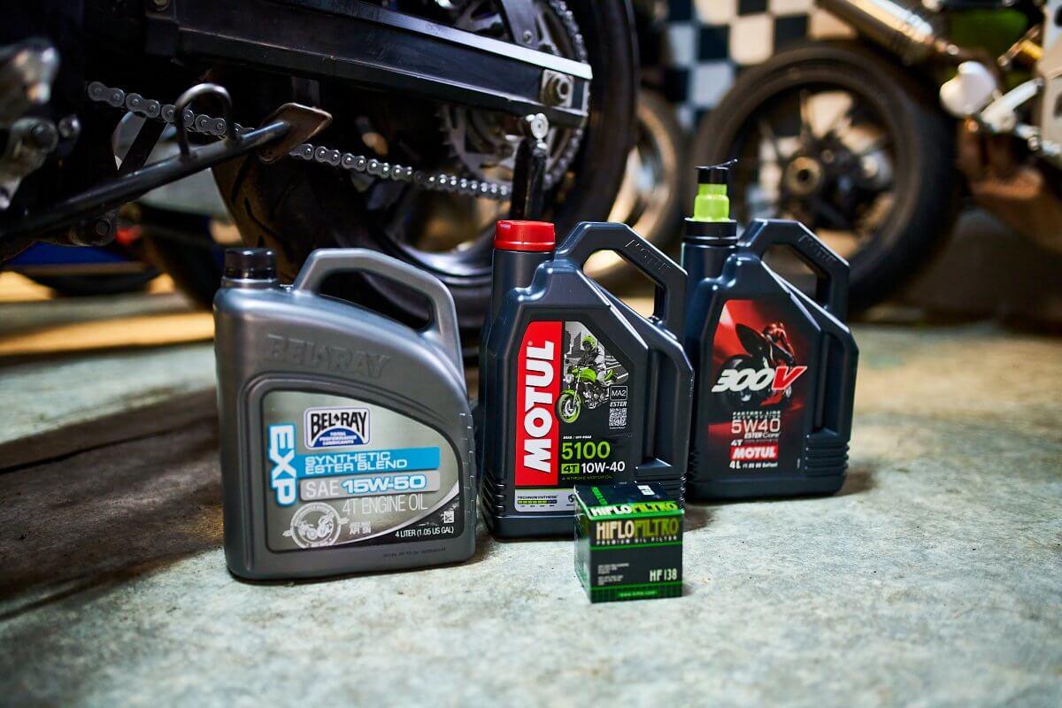Motorove oleje pro motorky